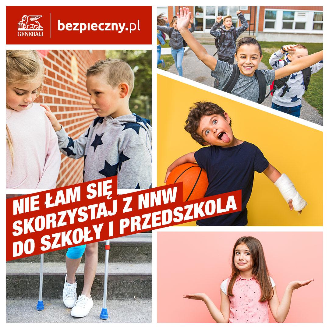 Kup ubezpieczenie NNW dla dzieci ze zniżką